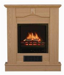 Stonegate® Oak Finish Mantle Electric Fireplace image B0045NRYE8.jpg