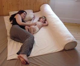 Humanity Family Sleeper- co-sleeping pad and maternity body pillow