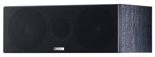 Canton Chrono 505 2,5 Wege Centerlautsprecher (85/140 Watt) schwarz
