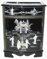 Amazon.com: Oriental Furniture Elegant Oriental Accent Furniture ...