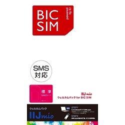 IIJ BIC SIMウェルカムパック SMS対応 標準SIM 【ビックカメラグループオリジナル】