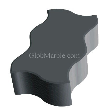 Paver Stone Mold Ps 4123/1 front-205788