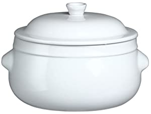 emile henry couleurs 4 2 quart fait tout round casserole with lid white kitchen. Black Bedroom Furniture Sets. Home Design Ideas