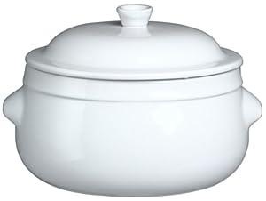 emile henry couleurs 4 2 quart fait tout round casserole with lid white kitchen. Black Bedroom Furniture Sets. Home Design Ideas