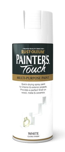 Rust-Oleum 400ml Painters' Touch Spray Paint - Gloss White