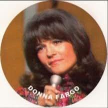 Donna Fargo's Funny Face Keychain