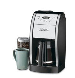 Cuisinart DGB-550BK Grind-and-Brew 12-Cup Automatic Coffeemaker, Black/Brushed Metal