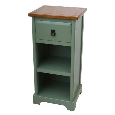 One Drawer Tall Nightstand