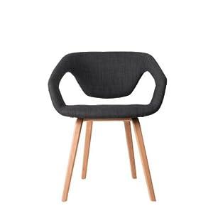 zuiver flexibler desinger stuhl flex back dunkelgrau. Black Bedroom Furniture Sets. Home Design Ideas