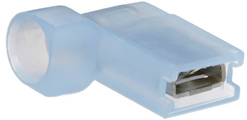 Morris Products 12440 Female Disconnect, Nylon Fully Insulated, Blue, 16-14 Wire Size, 0.032