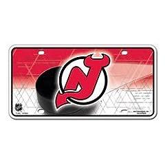 Buy License Plate New Jersey Devils Metal Logo License Plate National Hockey League Hokey... by fannsporan