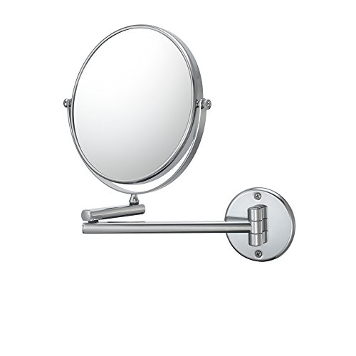 Kimball & Young 21740 Double Arm Wall Mirror, 1X And 10X Magnification, Chrome front-812989