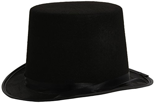 Smiffys Stovepipe Topper Hat Black Mens - 1
