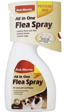 Bob Martin Clear Flea & Tick Spray Pet Animal Flea & Pest Control