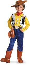 Disney Toy Story - Woody Deluxe Toddler / Child Costume - (7/8) PROD-ID : 1434876 (Cowboy Boot Spats)