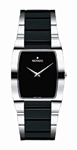 Movado Men's 605850 Fiero Tungsten Carbide Watch