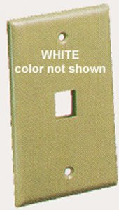 Ic107F01Wh - 1Port Face White Ic107F01Wh - 1Port Face White