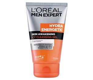 L'Oreal Men Expert Hydra Energetic Skin Awakening Icy Cleansing Gel 100ml