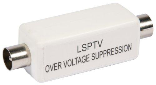 Labgear LSPTV Inline-Überspannungsschutz für Koaxialkabel