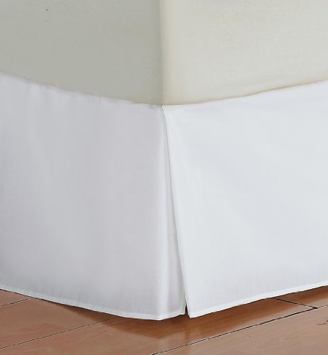 divatex 200 thread count queen bed skirt dust ruffles white free shipping new ebay. Black Bedroom Furniture Sets. Home Design Ideas