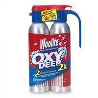 Woolite Spot & Stain Carpet Cleaner, OXY Deep, 2 Powerful Cleaners 2x 14 oz (397 g)