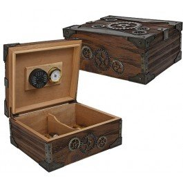 Steampunk Humidor 50 Count Humidor (Vintage Humidor compare prices)