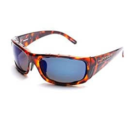 Native Eyewear Bomber Interchangeable Polarized Reflex Lens Sunglasses