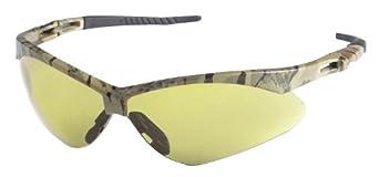 Jackson Safety V30 Nemesis Amber Anti Fog Lens Safety Eyewear with Camo Frame (Case of 12)