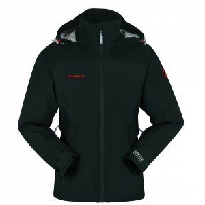 MAMMUT MORAINE JACKET WOMEN BLACK, BLACK, XXL