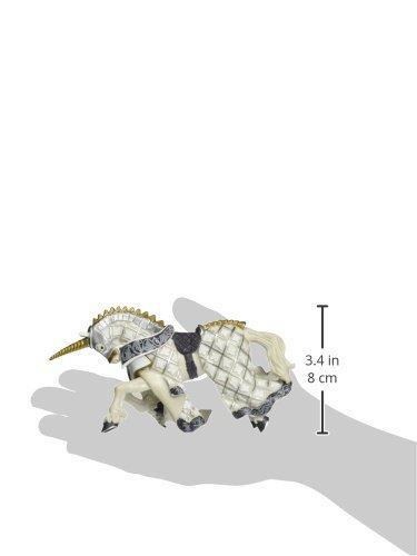 Papo-39916-Figurine-Cheval-de-Matre-des-Armes-Cimier-Licorne