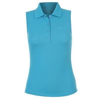 LA Gear Sleeveless Polo Shirt Ladies Laguna Blue