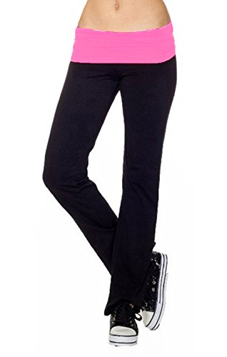 CordiU Contrast Band Yoga Pants