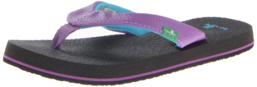 Sanuk Kids Yoga Mat Sandal,Purple,10/11 M Us Toddler front-932325
