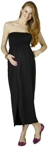 Rosie Pope Maternity Maxi Dress Black SML