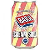 Barr Cream Soda 24x330ml Cans