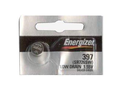 Energizer 395 2 sR726W sR726SW silberoxidbatterie 396, pour montre