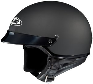 Hjc CS-2N Flat Black SIZE:MED Open Face Motorcycle Helmet