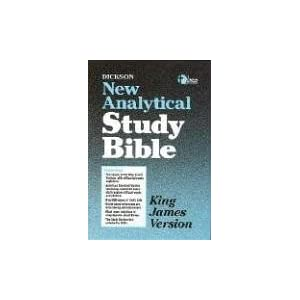 KJV - Dickson's New Analytical Study Bible: World Bible ...