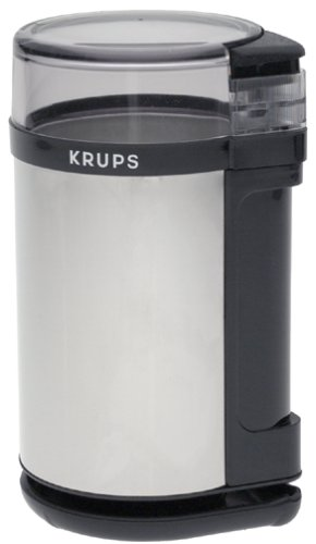 Krups 408-75 Chrome Touch Coffee Grinder