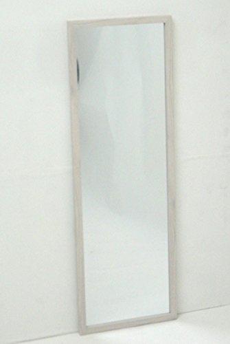 武田コーポレーション 【鏡・ミラー・姿見】 ウォールミラー 90 ホワイト WLM-90WH