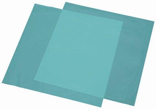 """Osung Da618Bp Rubber Dam Medium, Scent Free, 6"""" X 6"""", Blue"""