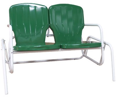 TORRANS SDGGRN Metal Double Glider, Green 1