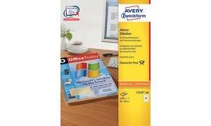 AVERY Zweckform Etiquettes adresses pour distribution pos-