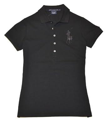 Ralph Lauren Sport Women Big Pony Logo Polo T Shirt At