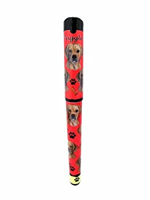 Puggle Pen Easy Glide Gel Pen, Refillable With A Perfect Grip, Great For Everyday Use, Perfect Puggle Gifts For Any Occasion