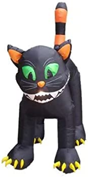 CC Inflatables 11' Cat Lighted Halloween Decoration