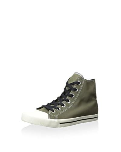 Burnetie Men's High Top Casual Sneaker