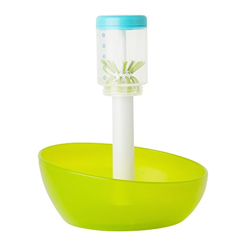 Boon Suds Bottle Washer, Green/White