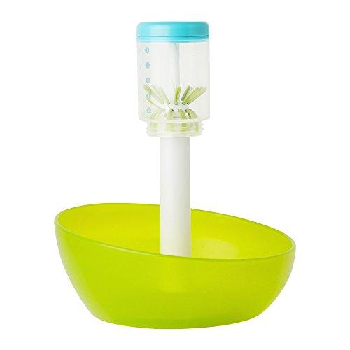 Boon Suds Bottle Washer, Green/White