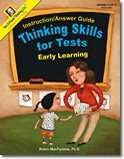 Thinking Skills for Tests: Early Learning - Instruction Answer Guide
